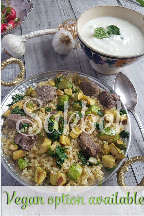 Abu Shalhoub  - Courgettes and Bulgur