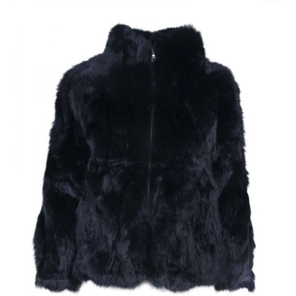 Rabbit Jacket Black