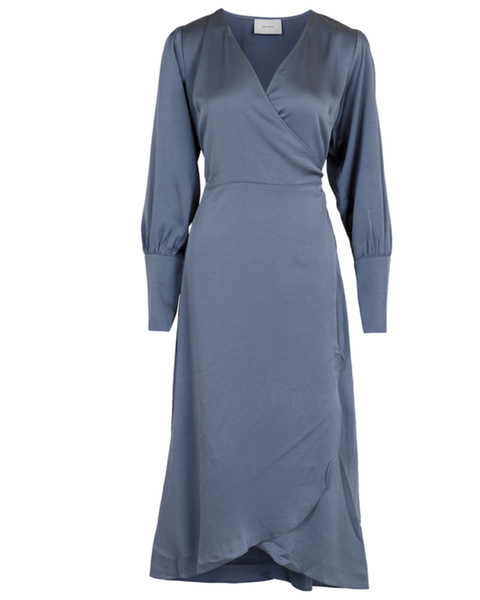 Asmara Dress - Dusty Blue
