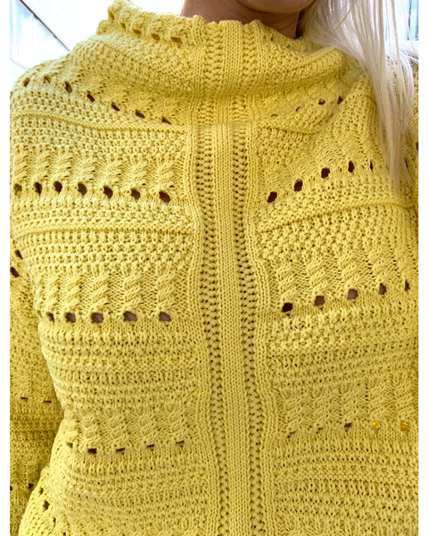 Mille Citrus Knit Yellow
