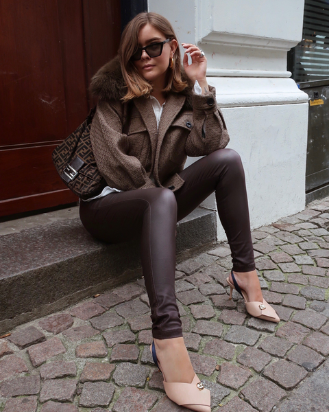 Aleia Leggings Dark Brown