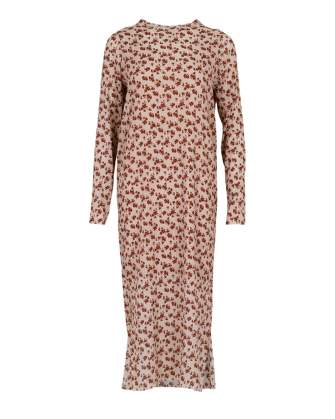 Vogue Printed Dress Rust