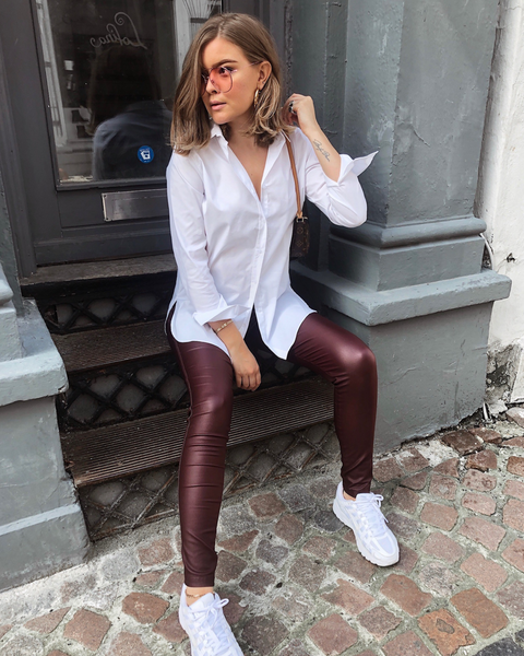 Aleia Leggings Burgundy