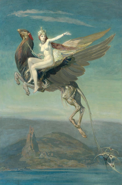 John Duncan - Heptu Bidding Farewell to the City of Orb, 1909