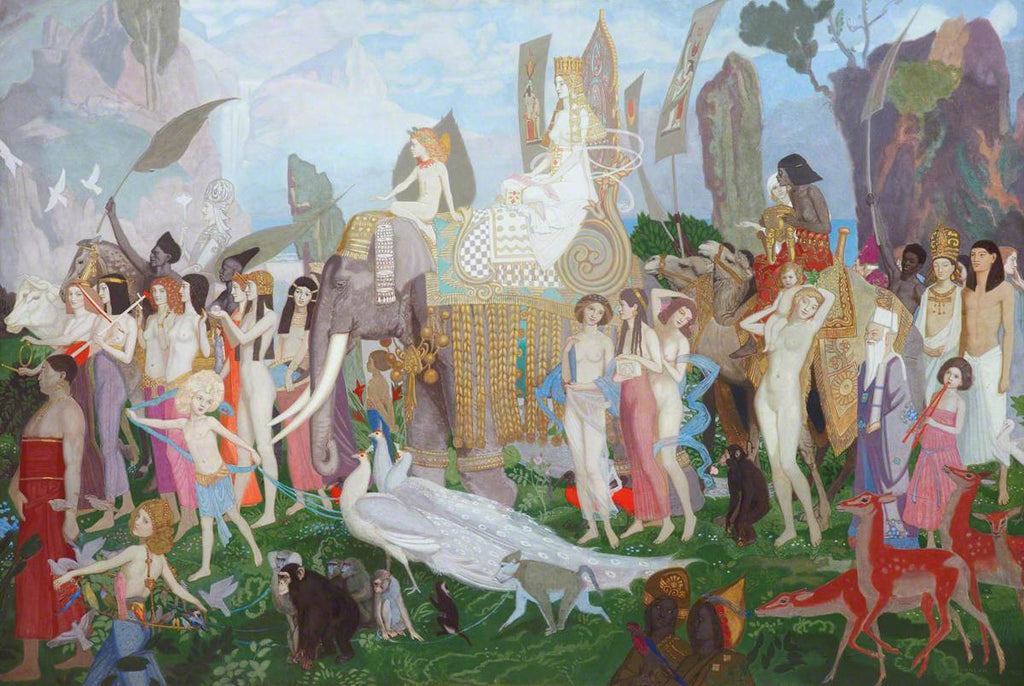 John Duncan - Ivory, Apes and Peacocks 1923