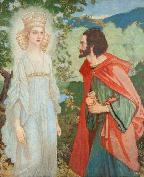 John Duncan - Merlin and the Fairy Queen