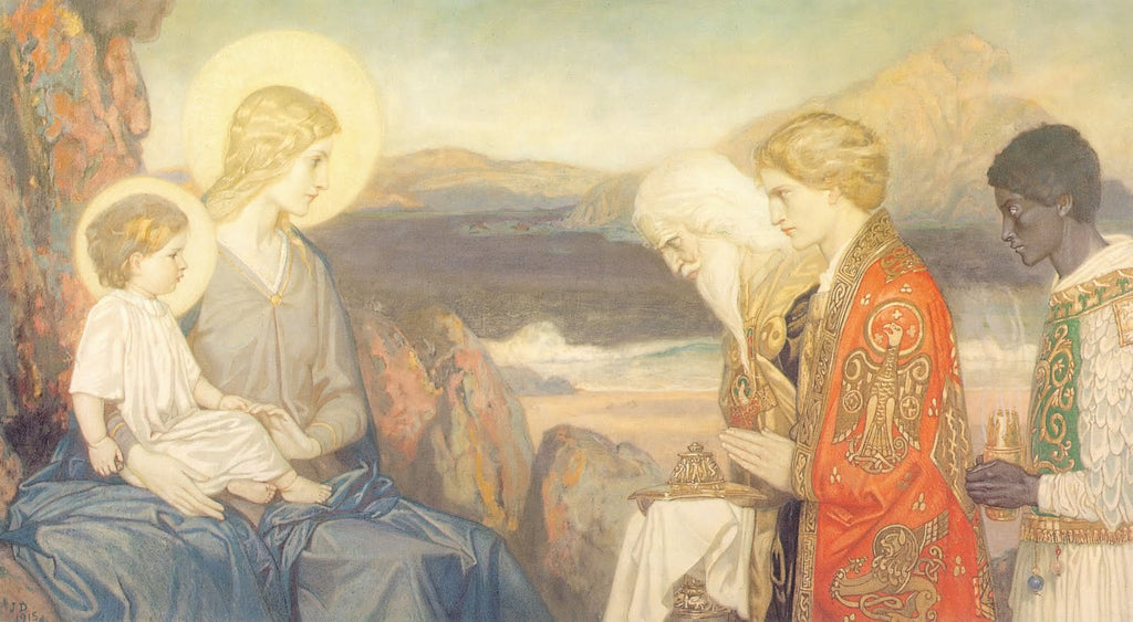 John Duncan - The Adoration of the Magi 1915