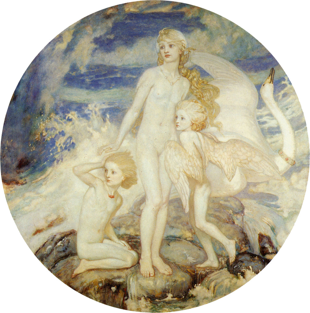 John Duncan - The Children of Lir 1914