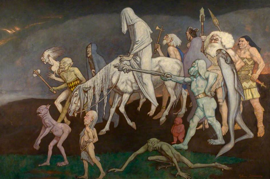 John Duncan - The Fomors (or The Power of Evil Abroad in the World)