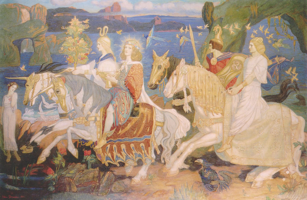 John Duncan - The Riders of the Sidhe 1911