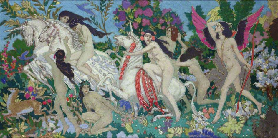 John Duncan - The Unicorns 1920
