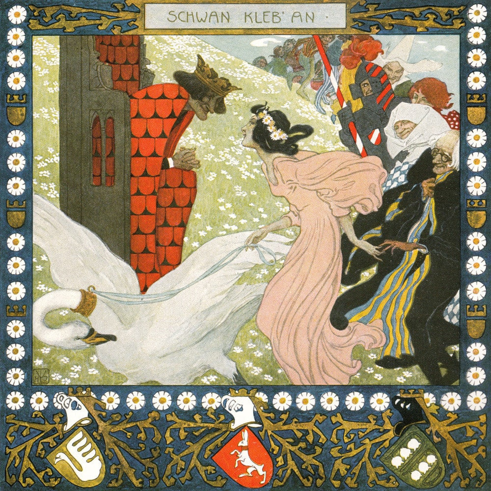 Lefler A fairytale calendar for the year 1905