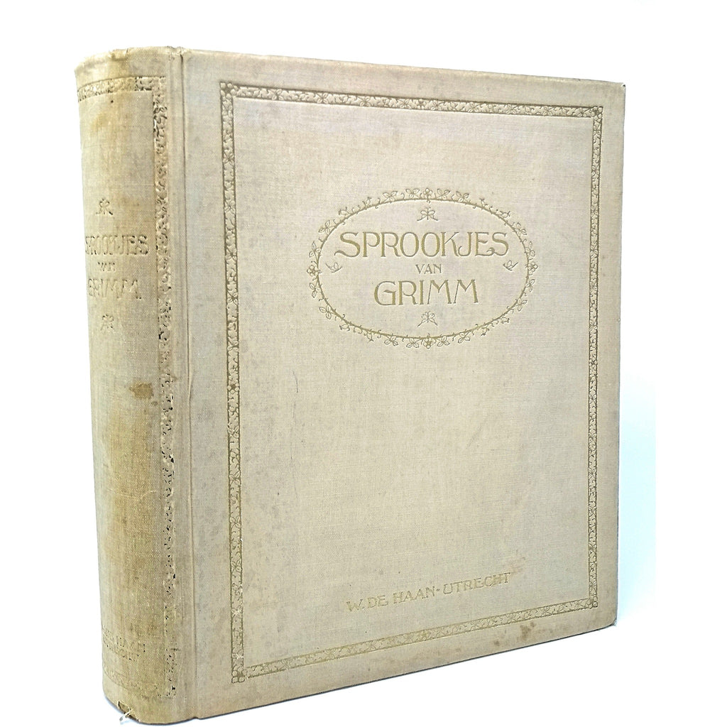 Children's Books - Sprookjes van Grimm. One of 350 copies signed and illustrated by Rie Cramer