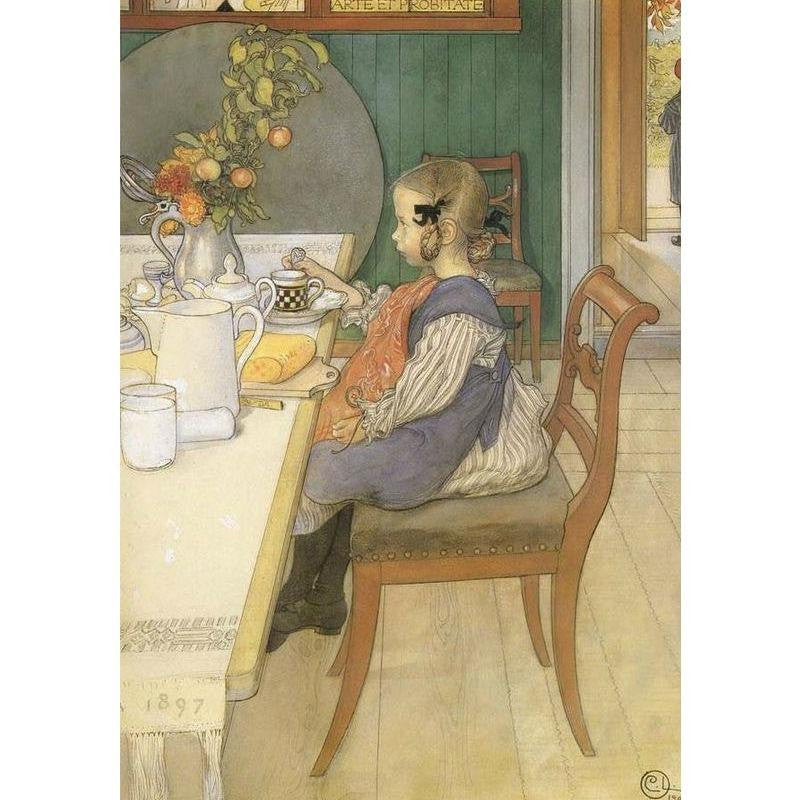 Children's Books - Das Haus In Der Sonne illustrated by Carl Larsson