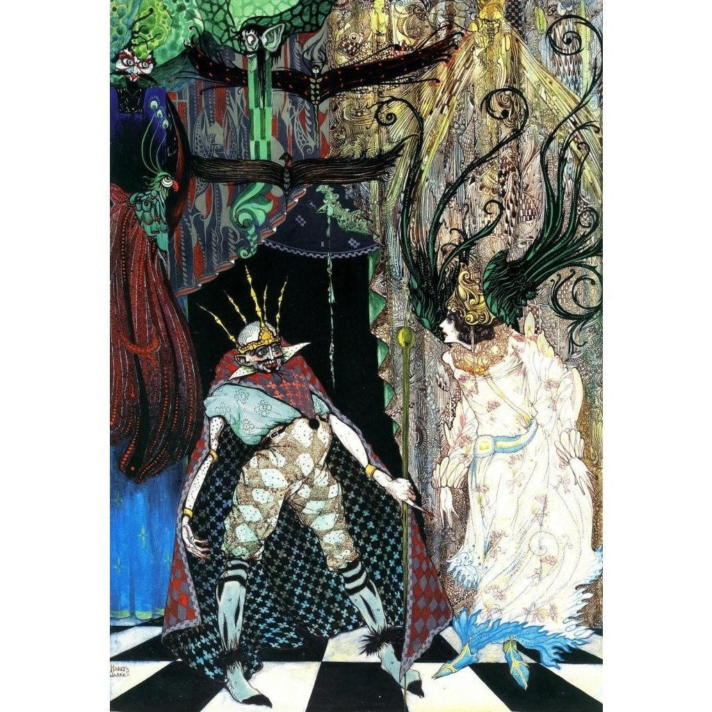 Illustrated Books - Fairy Tales by Hans Christian Andersen illustrated by Harry Clarke