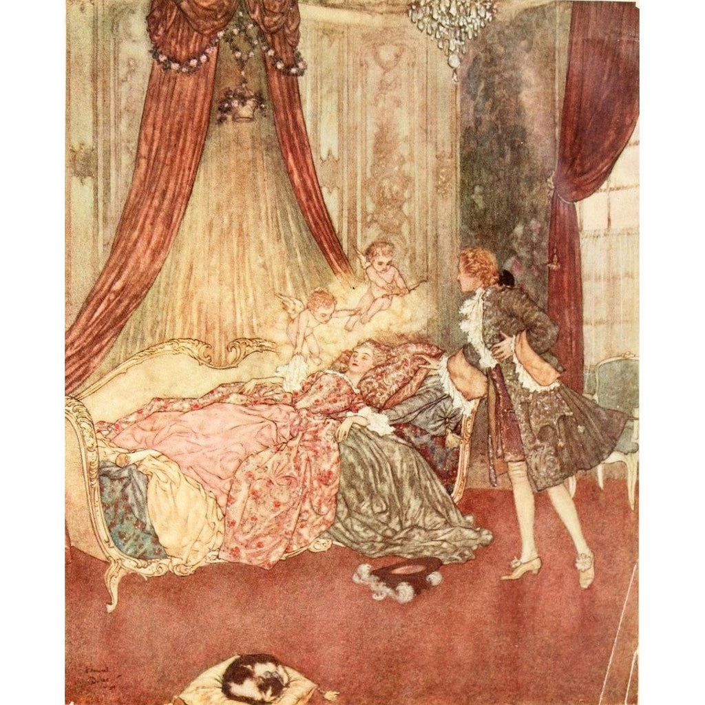 Illustrated Books - La Belle Au Bois Dormant illustrated by Edmund Dulac