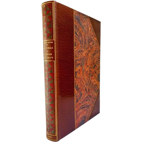Illustrated Books - Le Roman de Tristan et Iseut. Limited Illustrated Edition handsomely bound