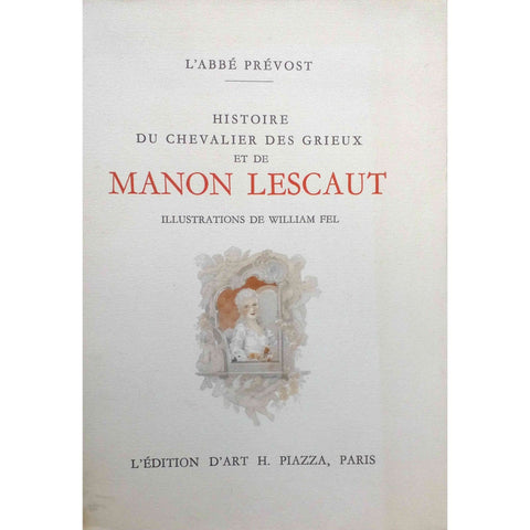 Erotica - Manon Lescaut. Limited illustrated edition