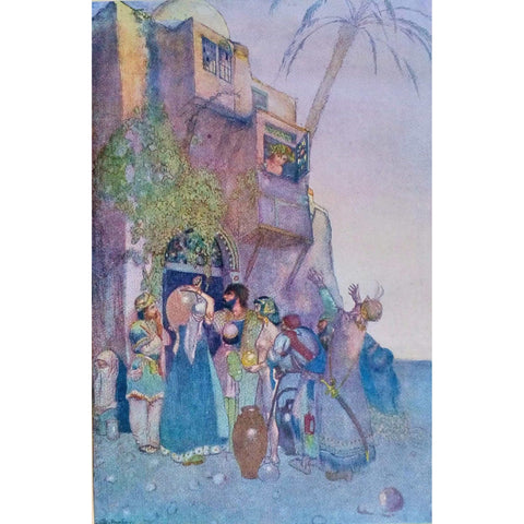 Illustrated Books - Rubaiyat of Omar Khayyam illustrated by Pogany