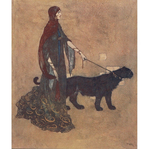 Illustrated Books - Arabische Nachtvertellingen. One of 100 copies illustrated by Edmund Dulac