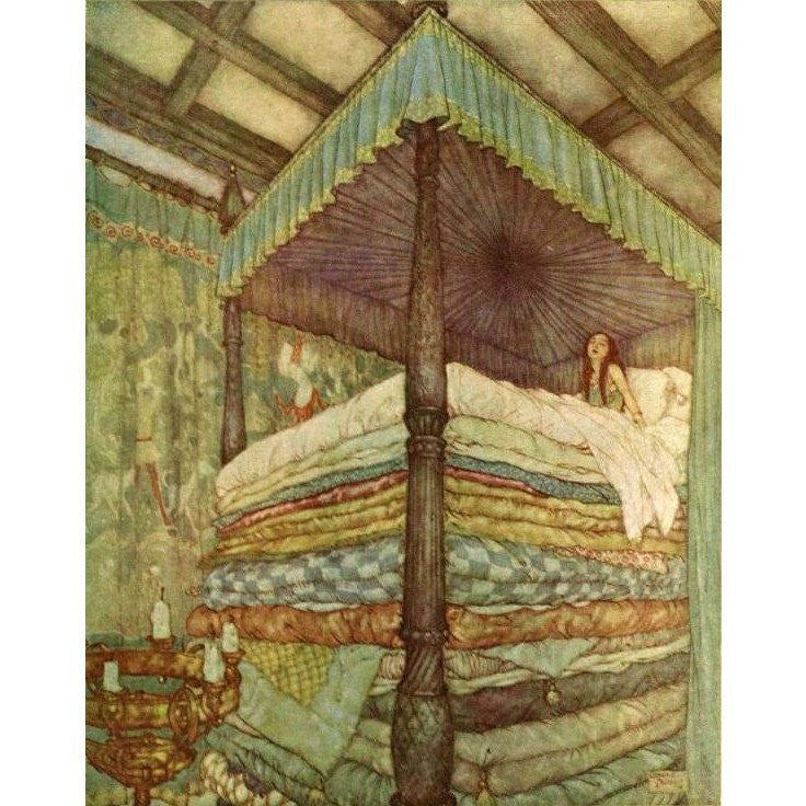 Children's Books - Sprookjes van Andersen illustrated by Edmund Dulac