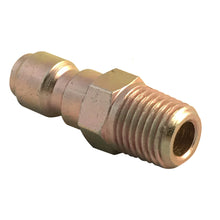 "Load image into Gallery viewer, 1/4"" Male NPT Screw Thread to Quick Connector 1/4"" Male for adding accessories to your pressure washer"