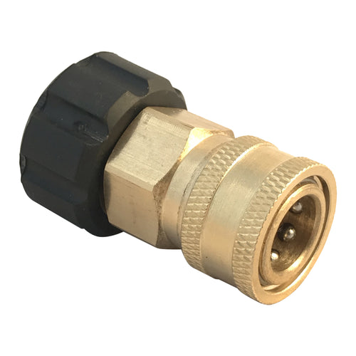 Pressure Washer M22 Female M22 Screw thread, to 3/8 inch female Quick Connector coupling