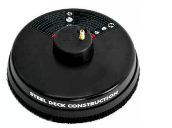 18 inch 3700 psi steel deck surface cleaner 1/4 Quick Connector for gas or electric pressure washers