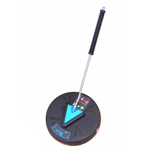 "Driveway & Flat Surface Cleaner - 15 Inch Diameter, 2100psi, 6GPM impact resistant with 1/4"" f Quick-Connector"