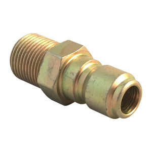 "1/4"" Male NPT Screw Thread to Quick Connector 1/4"" Male for adding accessories to your pressure washer"