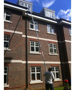 2 Story Commercial Gutter Cleaning Vacuum System (20 feet reach).