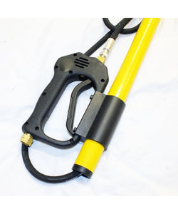 "24 feet long ""Giraffe"" Telescoping Lance for Pressure Washers, Extendable, 4 sections, up to 4000 psi, 8GPM"