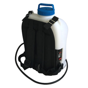 Backpack Water Tank with 20ft Water Fed Pole Window and Solar Cleaning System