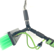 Load image into Gallery viewer, Water Fed Pole Kit for Window Solar Cleaning (30 Foot Reach) Brush and Squeegee