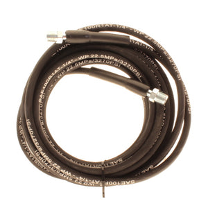 25 Feet High Pressure Hose 3000 psi, 1/4 inch male and 1/4 inch female Quick Connect, Single Braid