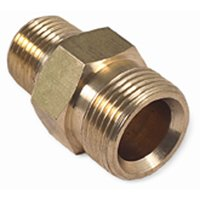 Karcher Kranzle M22 Male, 1/4 inch Male Brass  Pressure Washer Adapter Connector