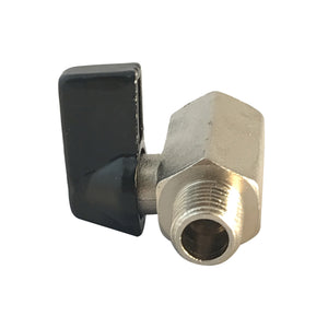 Shut Off Ball Valve for Pressure Washers, 3000 psi, 1/4 inch male to 1/4 inch female NPT thread