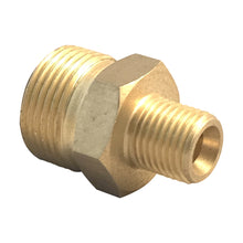 Load image into Gallery viewer, Karcher Kranzle M22 Male, 1/4 inch Male Brass  Pressure Washer Adapter Connector