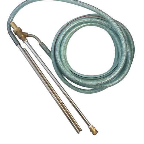 Commercial 18 inch Sandblasting Lance Kit, M22 Coupling for Pressure Washers, 3500 psi, 10 GPM