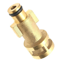 "Load image into Gallery viewer, Bosch Pressure Washer Adapter Bayonet, 2000 psi, 1/4"" bsp thread"