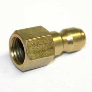 "1/4"" Female NPT Screw Thread to Quick Connect 1/4"" Male, extend lance of your pressure washer with this coupling"