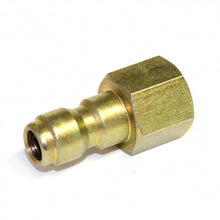 "Load image into Gallery viewer, 1/4"" Female NPT Screw Thread to Quick Connect 1/4"" Male, extend lance of your pressure washer with this coupling"
