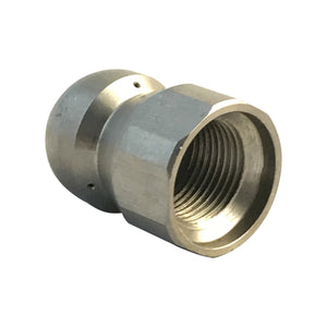 Drain Sewer Cleaning Nozzle for Jetting - 3/8 inch NPT female thread, 5500 psi,  045 jet size