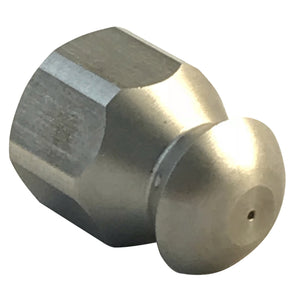 "Drain Sewer Cleaning Nozzle for Jetting - 1/4"" NPT female thread, 5500 psi, 045 jet size"