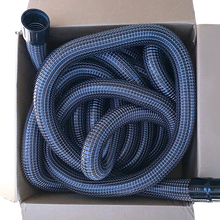 "Load image into Gallery viewer, 2"" wide, 50 foot long wire reinforced hose for Gutter Cleaning Vacuum System - Add-on Upgrade"