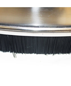 "24"" Stainless Steel Flat Surface Cleaner, 4000 PSI Max for Power Pressure Washer"