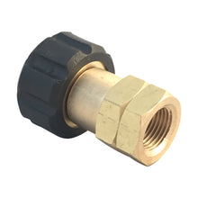 Load image into Gallery viewer, Pressure Washer M22 Female to 3/8 inch female NPT screw thread coupling