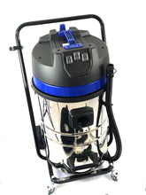 Load image into Gallery viewer, 20 Gallons Industrial Gutter Wet & Dry Vacuum 240v, 3600W, 3 x Motors