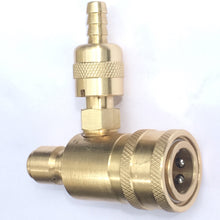 Load image into Gallery viewer, In-Line Adjustable Chemical Injector for Pressure Washers, Quick Connector Female to Male