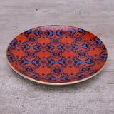 boho spirit, canape plate, appetizer plate, tabletop decor ,stoneware,side plate